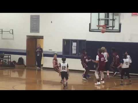 Jonathan Echols Basketball Highlights 8th Grade Vs Haralson County Middle School