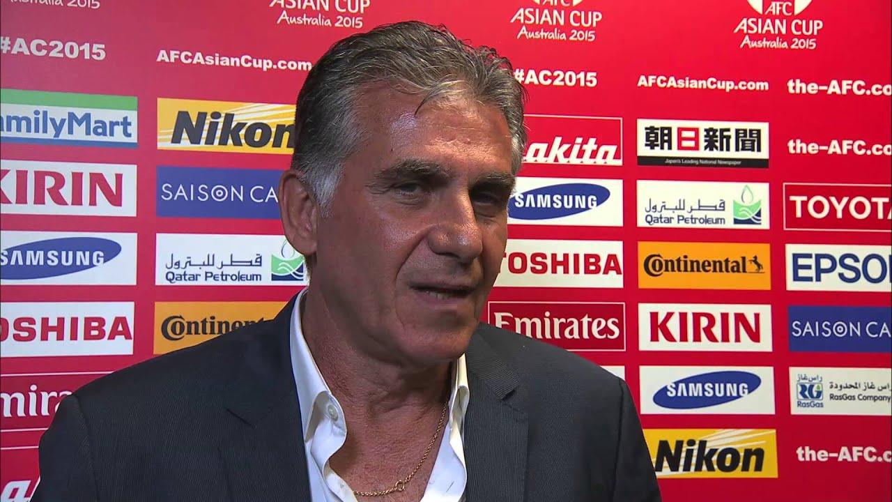 Resultado de imagem para Carlos Queiroz Asian Cup 2015