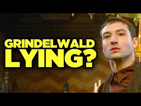 Fantastic Beasts Crimes of Grindelwald ENDING EXPLAINED - Did Grindelwald Lie?