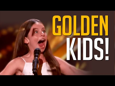 Top 10 Best Kid GOLDEN BUZZERS On America's Got Talent!