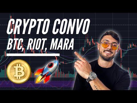 Crypto Convo: Bitcoin, Ethereum, Riot Blockchain (RIOT) & Marathon Patent Group (MARA) Analysis