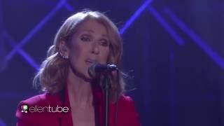 Celine Dion - Recovering (Live on Ellen Show, September 12th, 2016)