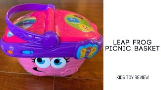 LeapFrog Shapes and Sharing Picnic Basket - Baby Product Review