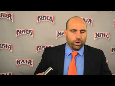 NAIA National Title Game Postgame with Coach Lister