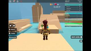 Bro gaming plays speed run on ROBLOX:)
