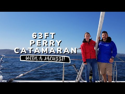 Sailing to Mossel Bay, South Africa on a 62ft Perry Catamaran (Ep.46)