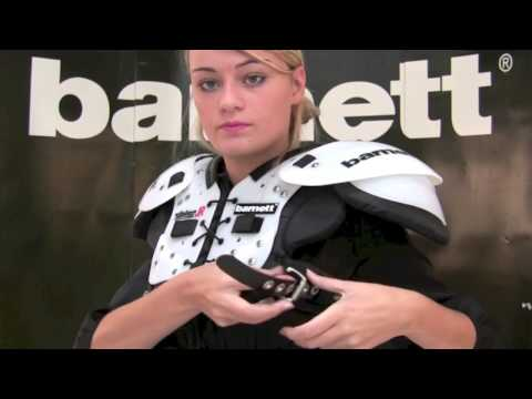 American Football Shoulder Pad VISION JR by barnett