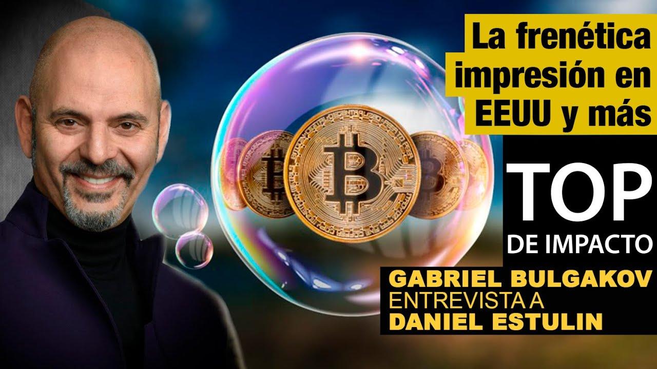 ¿Podrá el bitcoin destronar al dólar como divisa global?, Charla: Gabriel Bulgakov y Daniel Estulin