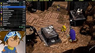 Digimon World - 100 Prosperity Speedrun in 2:32:50 (Current World Record)