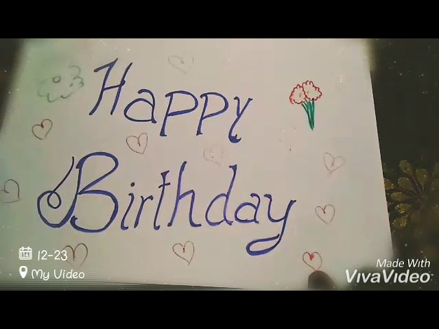 Birthday Wishes For My Long Distance Boyfriend Youtube