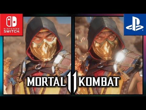 Mortal Kombat 11   Switch VS PS4   Graphics Comparison & Frame Rate Test
