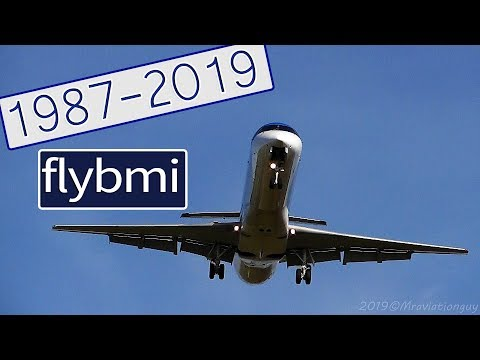 20 Minutes Dedicated To Flybmi (bmi Regional) | Plane Spotting, Takeoffs & Landings | 1987-2019