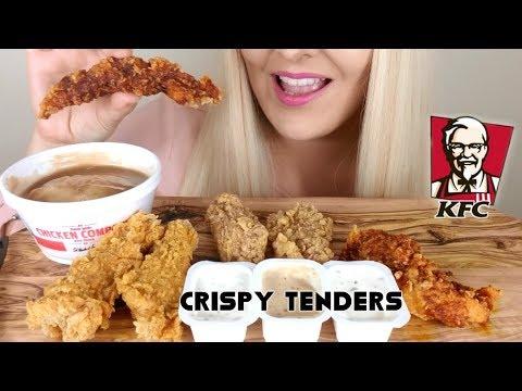 Crispy KFC ChickenTenders ASMR Eating Sounds No Talking