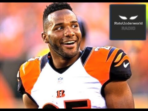 Bengals RB Gio Bernard is grossly undervalued in fantasy football leagues