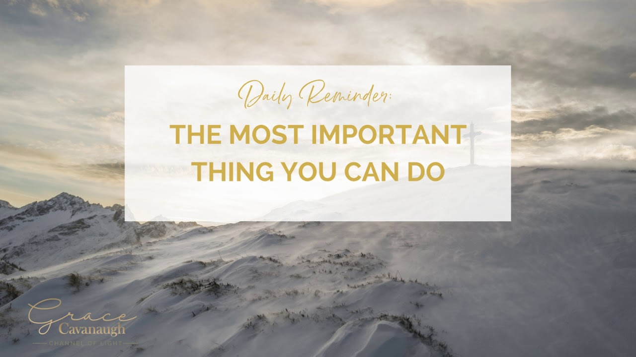 The most important thing you can do [for the most important relationship]
