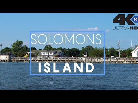 Solomons Island & Clark's Landing Maryland Waterfronts - Tour by boat & air