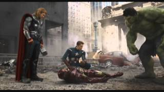 The Avengers: The Hulk saves Iron-Man 720p