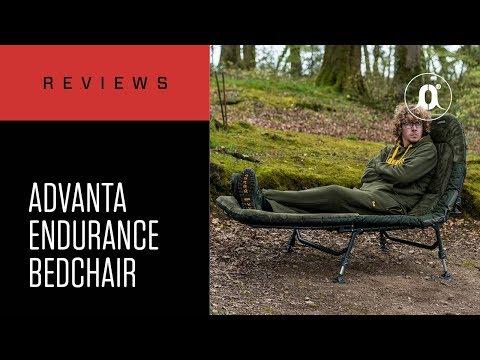 CARPologyTV - Advanta Endurance Six Leg Memory Foam Bedchair Review