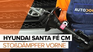 Wie Sie Motorhalterung beim HYUNDAI SANTA FÉ II (CM) selbstständig austauschen - Videoanleitung