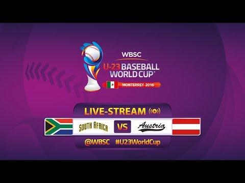 South Africa v Austria - Consolation Round - U-23 Baseball World Cup 2016 - Gm 42