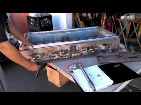 Barbque Grille Conversion To Natural Gas Or Propane LP (How to)