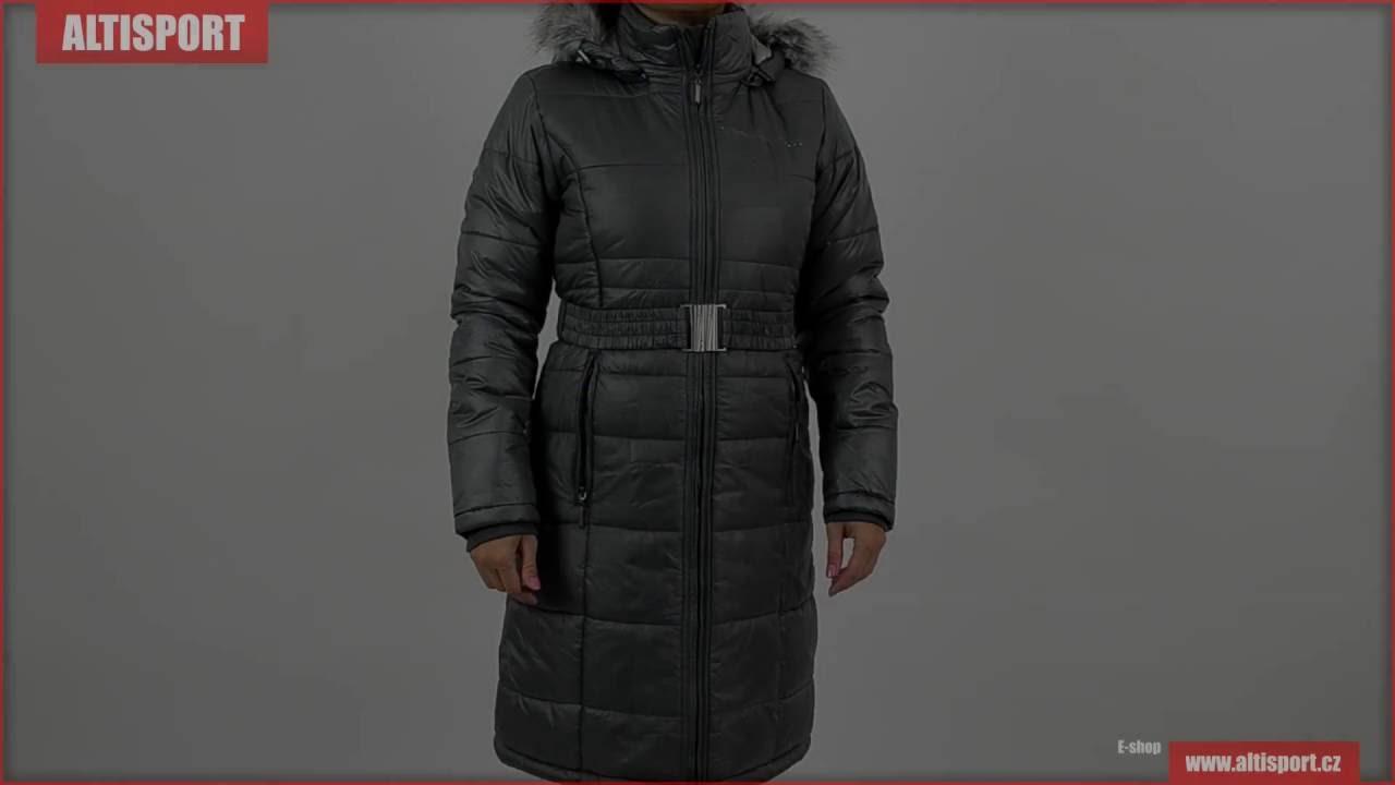 a43bd90b7e0 dámský kabát alpine pro therese tmavě šedá - YouTube