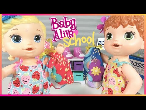 Baby Alive Back To School Shopping ✏️👶🏼📚Doll