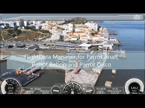 Demo of Templates for Parrot Anafi, Bebop and Parrot Disco