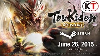 TOUKIDEN: KIWAMI - STEAM ANNOUNCEMENT TRAILER