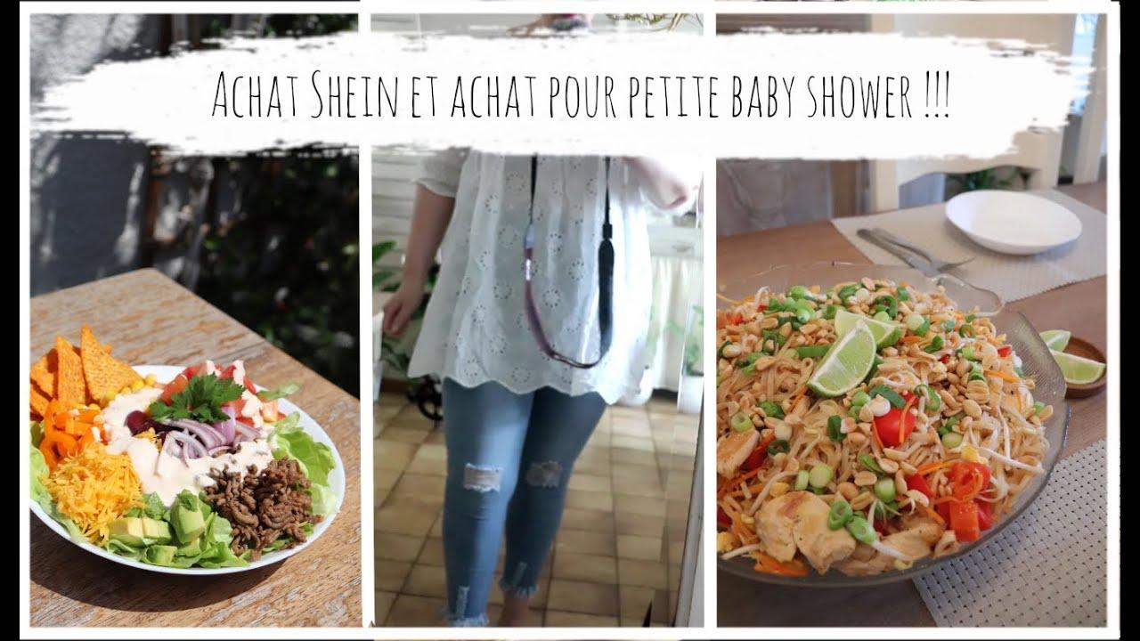 """vlog du 7 juillet : salade composée """"comme un Tacos"""" et Pad Thaï au poulet"""