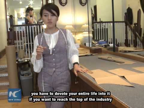 Meet the Chinese female master tailor on Savile Row