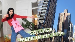 Week in my Life as a College Student in NYC - Last Semester