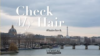 WORKING WITH L'OREAL professionnel PRO #HAIRCHECK  | NABIILABEE