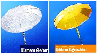 How to get a *GRATIS* Gold & Diamond glider in Fortnite!! ( that's how it goes )