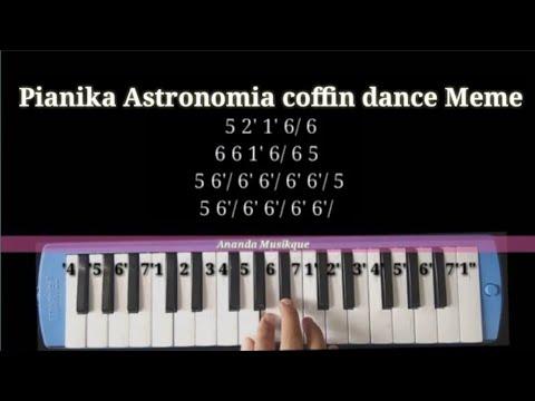Not Pianika Astronomia Coffin Dance Meme Dj Angklung Youtube
