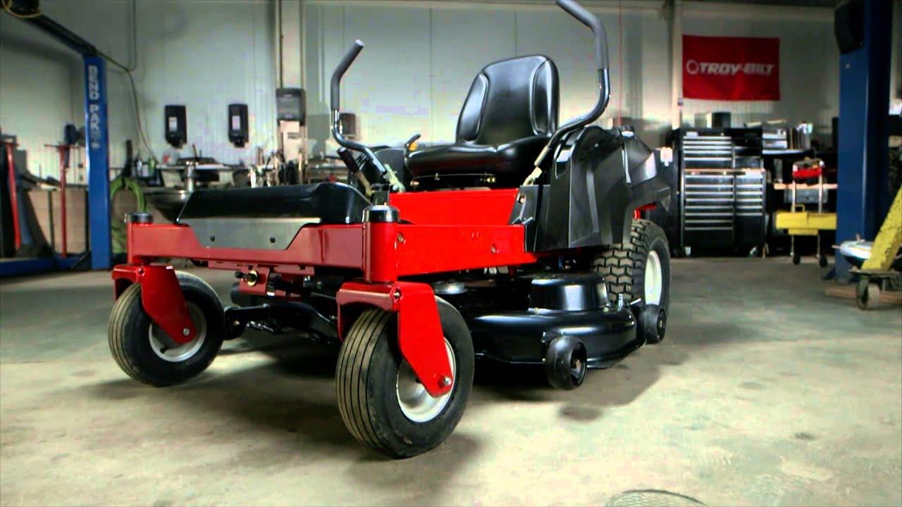 full length frame | troy-bilt® zero-turn lawn mower | how we're