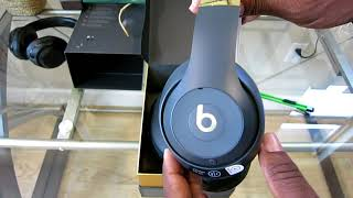 New Apple Beats Studio 3 Wireless Headphones Shadow Gray Unboxing & Setup Review