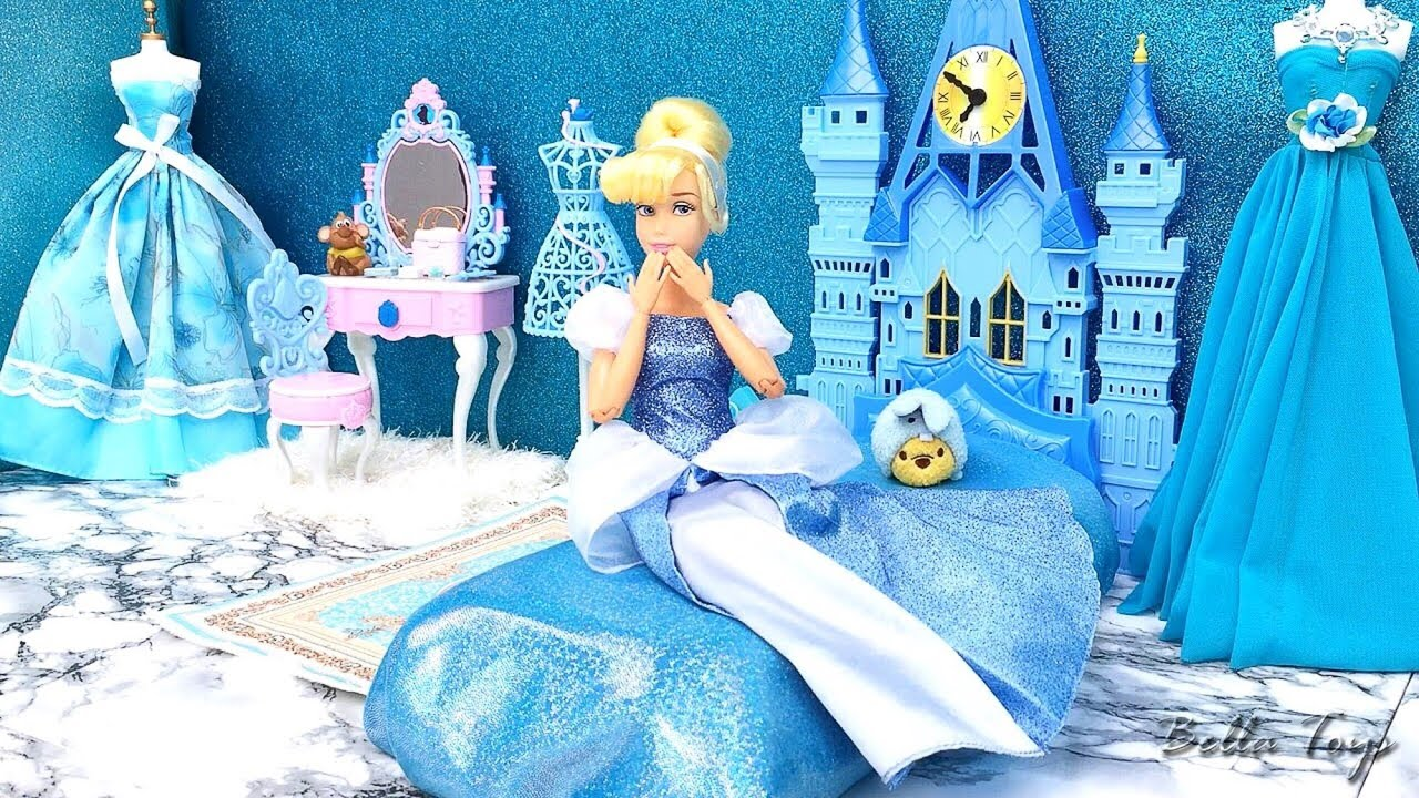 Princess Bedroom For Cinderella Disney Room Setup Decor Youtube