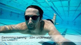 Swimming 50m Underwater