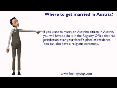 Where to get married in Austria?