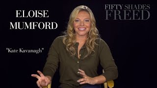Fifty Shades Freed - Eloise Mumford Interview | SUBTITULOS ESPAÑOL | Kate Kavanagh