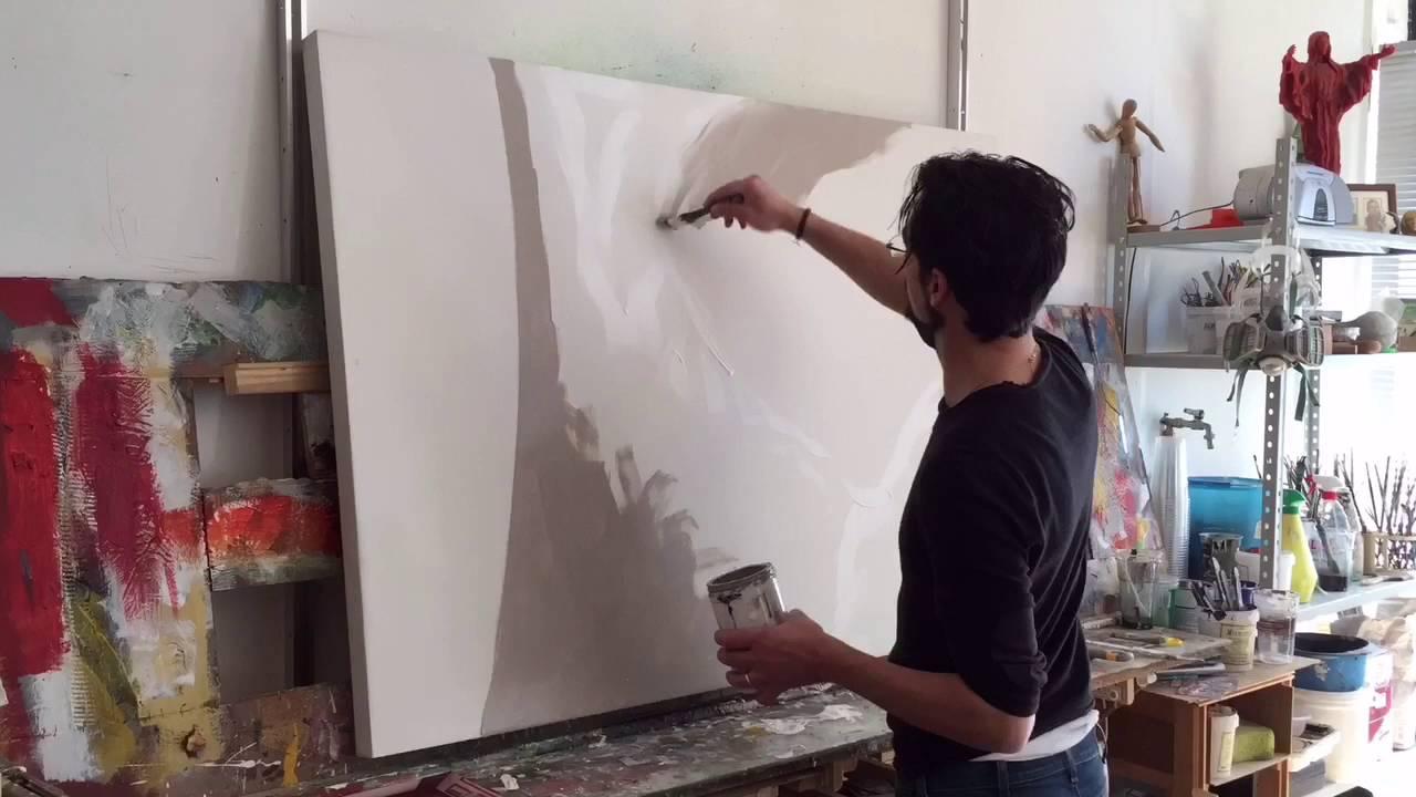 Quiete dipinti moderni italiani youtube for Dipinti figurativi moderni