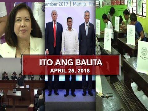 UNTV: Ito Ang Balita (April 25, 2018)
