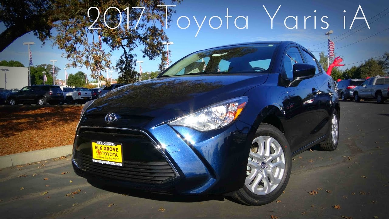 2017 toyota yaris ia 1 5 l 4 cylinder review youtube. Black Bedroom Furniture Sets. Home Design Ideas