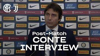 INTER 1-2 JUVENTUS | ANTONIO CONTE EXCLUSIVE INTERVIEW: