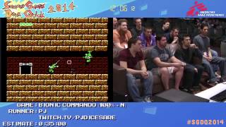 Summer Games Done Quick 2014 - Part 134 - Bionic Commando