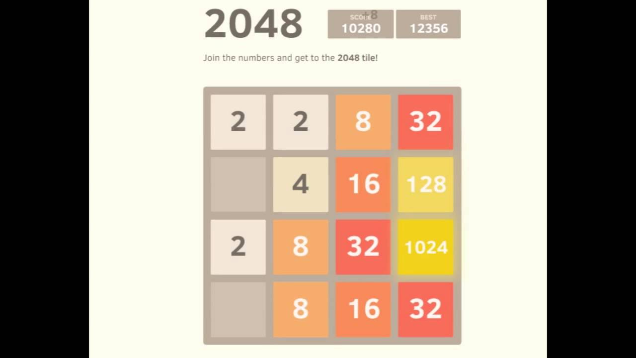 2048: how to win 20