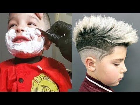 Erstaunliche Kinder Jungen Haarschnitt Tolle Designs Und Frisuren Dunyanin En Iyi Berberleri