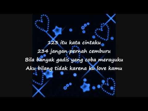 Ksatria Feat Gina Youbi - 123 234 ★ LIRIK ★