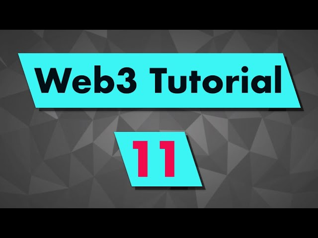 Web3 Tutorial: Utility Functions (fromWei, toWei, hexToAscii, etc...)